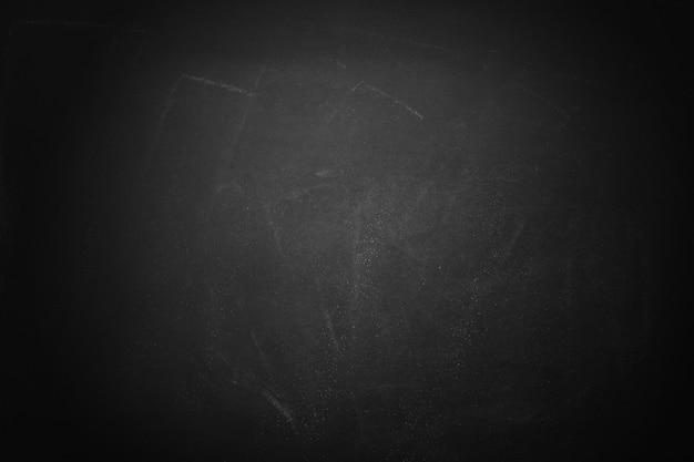 Schwarzer vorstand und kreidebrettbeschaffenheitshintergrund