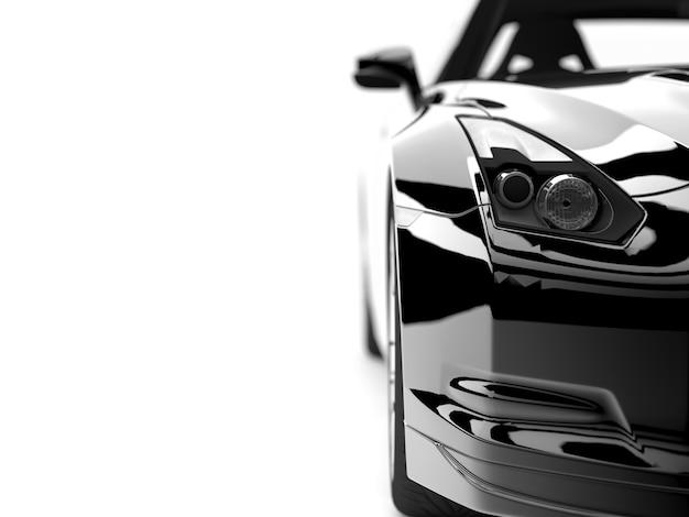 Schwarzes auto