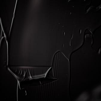Schwarzes cremetexturhintergrundkosmetikprodukt und make-uphintergrund für luxusschönheitsmarkenurlaub ...