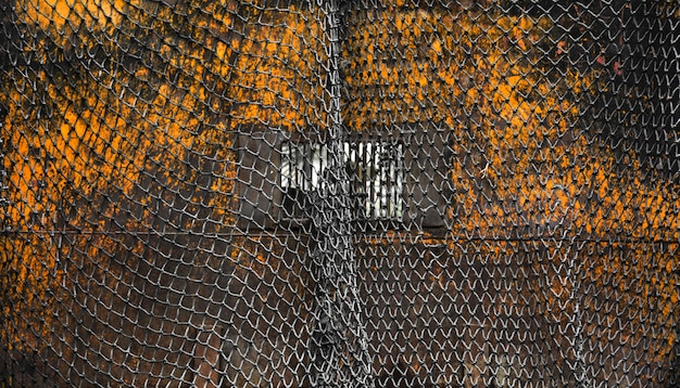 Schwarzes fischernetz