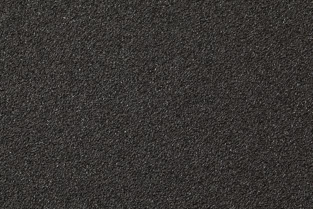 Schwarzes sandpapier textur