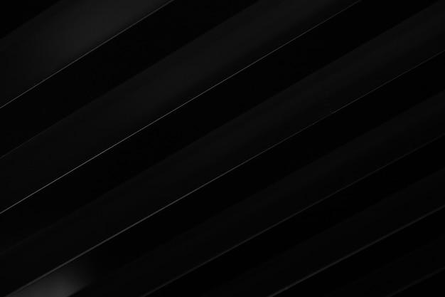 Schwarzes t-shirt 3d mit diagonalen weißen streifen