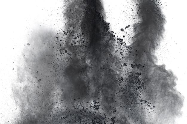 Schwarzpulver-explosion.