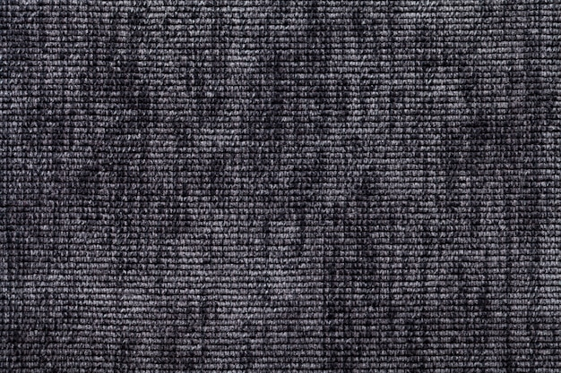 Schwarzweiss-hintergrund vom weichen textilmaterial. stoff mit natürlicher textur.