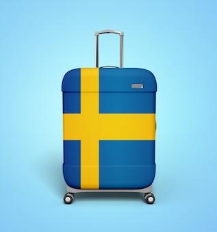 Schweden koffer - urlaub