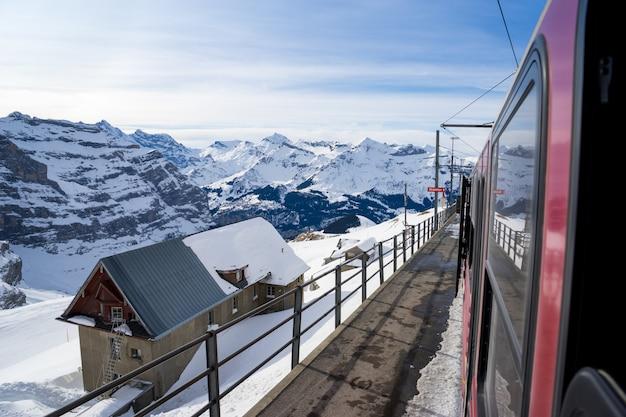 Schweizer berg, jungfrau, die schweiz, skiort