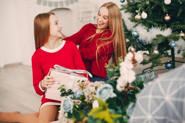 Schwestern zu hause