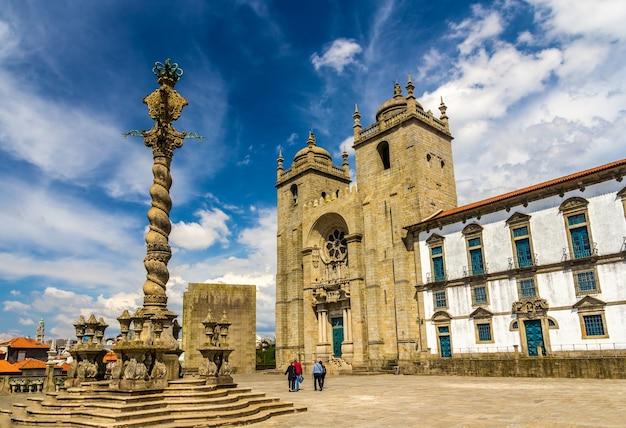 Se do porto, kathedrale von porto in portugal