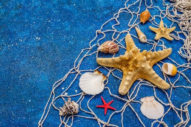 Sea marine mit glitzer