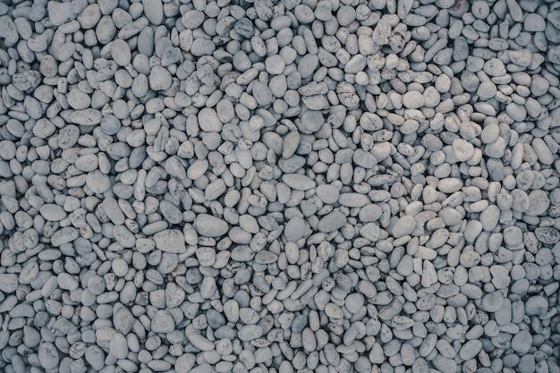 Sea stones hintergrund. weiße steinsteinbeschaffenheit.