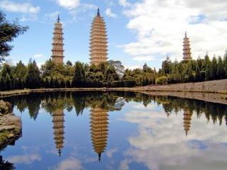 Sechs pagoden