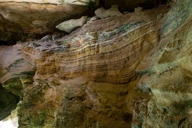 Sedimentgesteinsschichten und schichtung