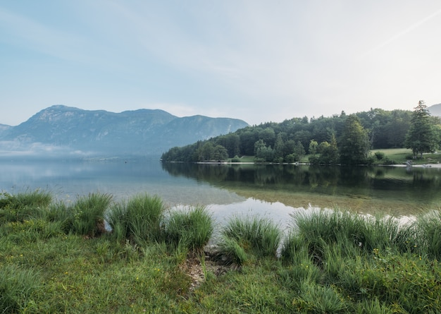 See über berg tagsüber