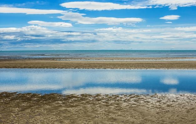 Seelandschaft hintergrund