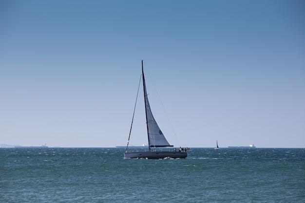 Segelboot an der adria
