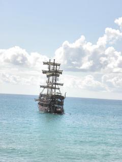 Segelschiff in mediterranea