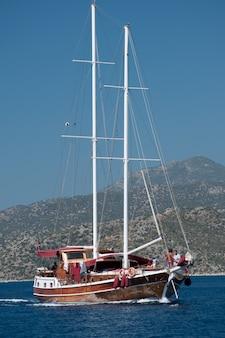 Segelschiff ohne segel