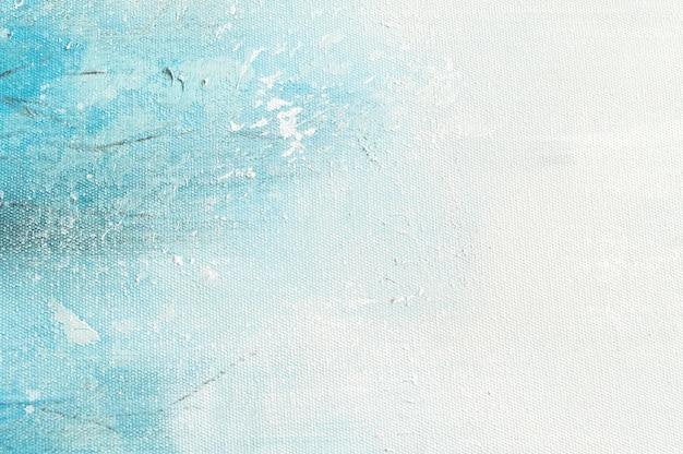 Segeltuchbeschaffenheitshintergrund mit abstrakter blauer bunter kunstmalerei.