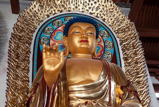 Segenstatue von lord buddha, china