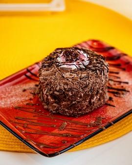 Seitenansicht der schwarzwälder kirschschokoladenchips