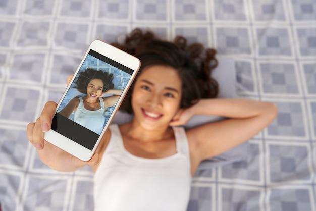 Selfie nehmen