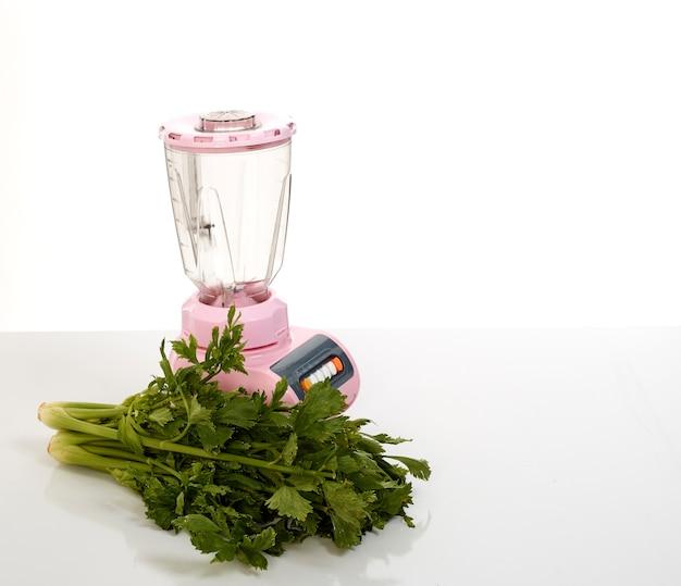 Sellerie gesundes gemüsesaftlebensmittelkonzept