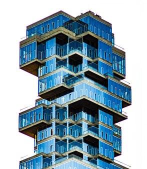 Seltsame form glasgebäude