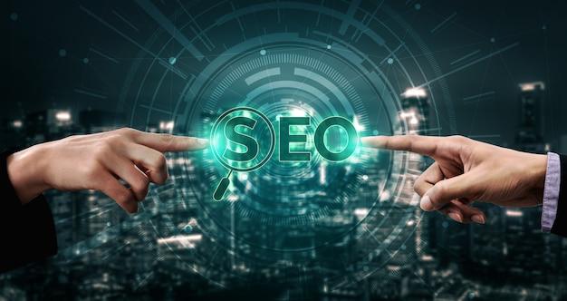 Seo search engine optimization-geschäftskonzept