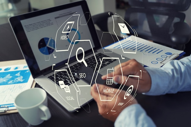 Seo-startup-projekt für digital marketing media search engine