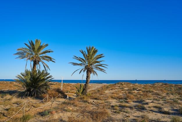 Serradal strand in grao de castellon spain