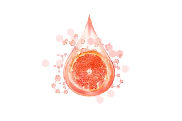 Serum von zitrusfrüchten