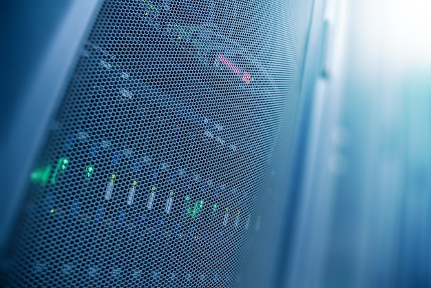 Server internet datencenter raum, netzwerk