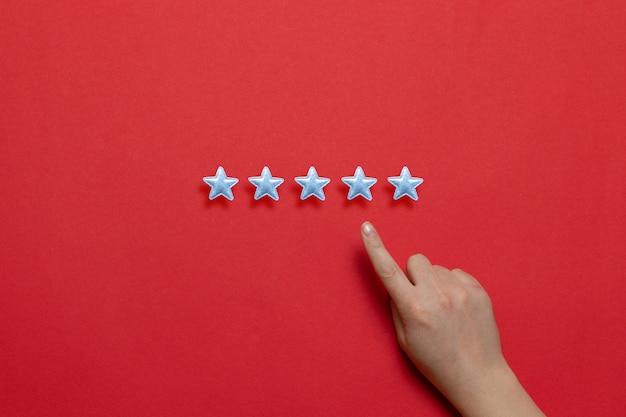 Service-rating, zufriedenheitskonzept. bewertung der servicequalität und der erbringung von dienstleistungen