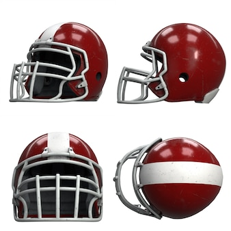 Set alter american football helme