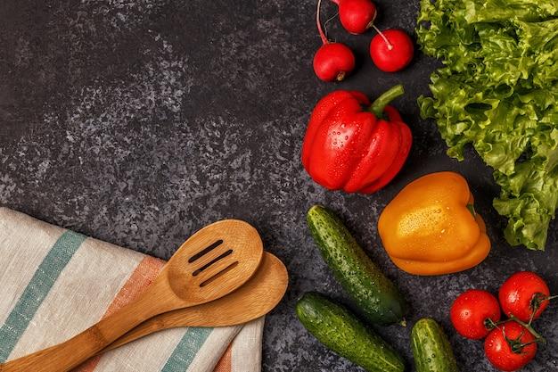Set gemüse zum kochen