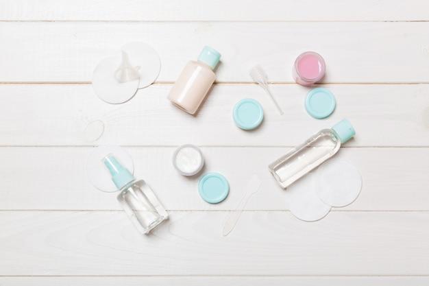 Set kosmetische flaschen
