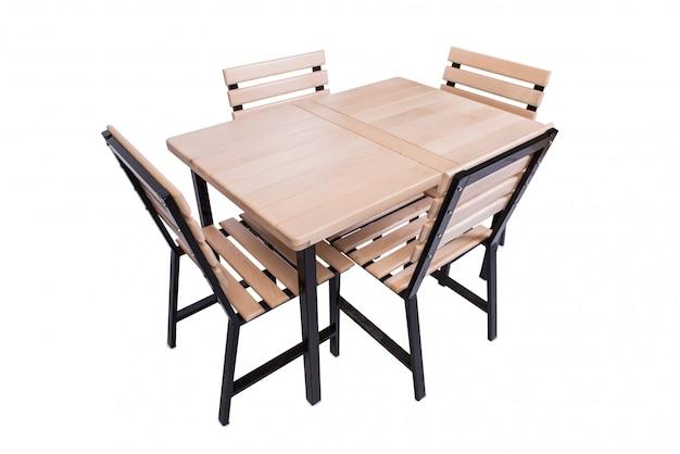 Set küchenmöbel getrennt auf weiß
