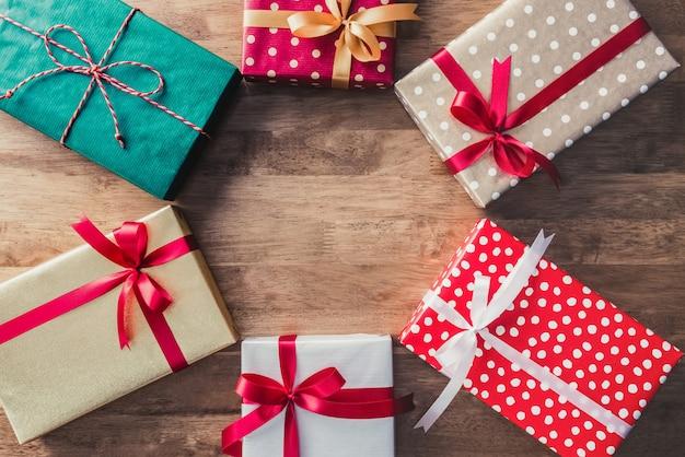 Set neue jahr und weihnachtsferien geschenkboxen ideen