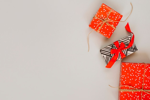 Set schöne geschenkboxen