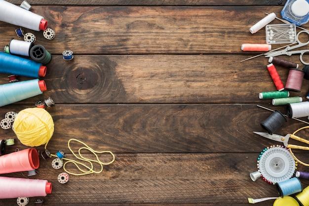 Sets von nähwerkzeugen