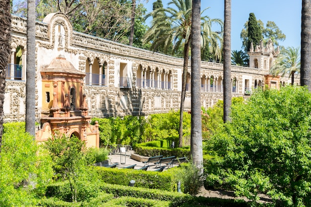 Sevilla alcazar spanien