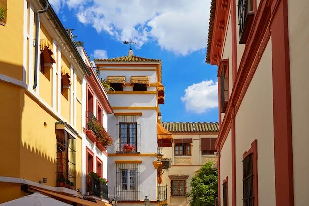Sevilla alte stadt in der nähe von calle agua vida st. spanien