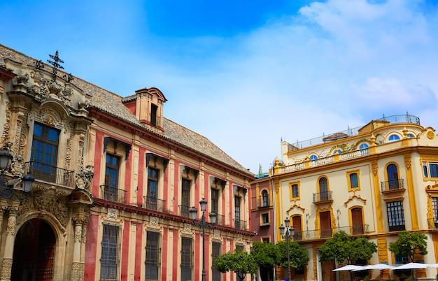 Sevilla palacio arzobispal von sevilla andalusien