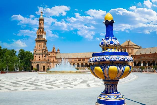 Sevilla plaza de espana andalusien spanien