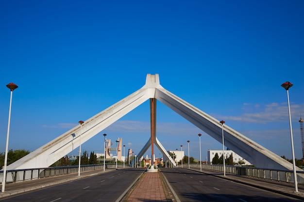 Sevilla puente de la barqueta brücke sevilla