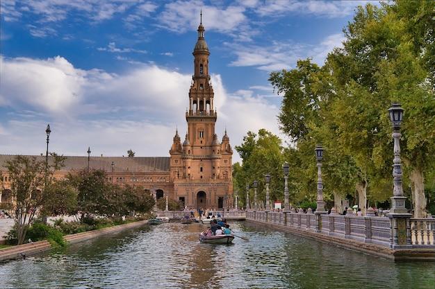 Sevilla-stadt, andalusien, spanien.