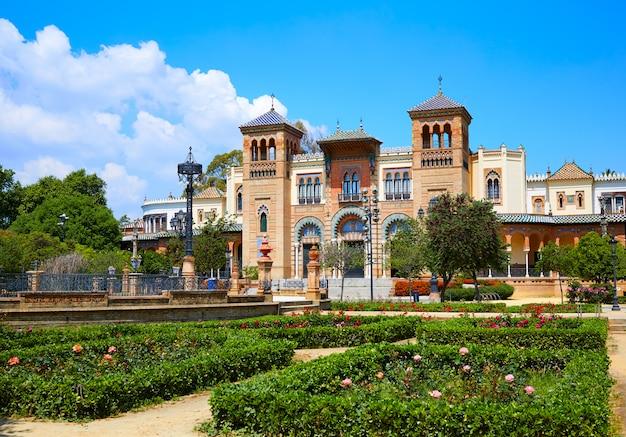 Seville maria luisa park gärten spanien