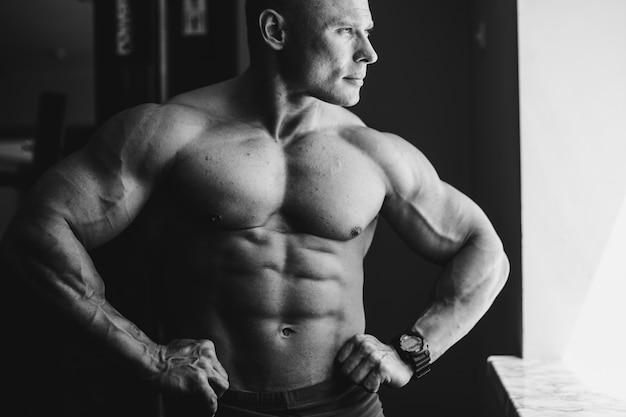 Sexy erwachsenen fitness sport hintergrund