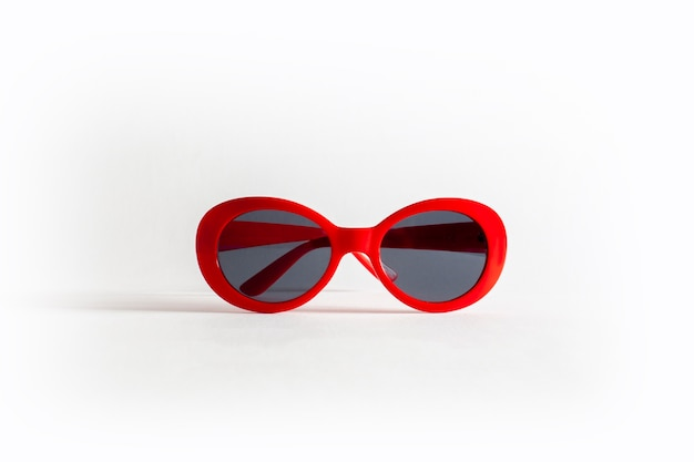 Sexy rote sonnenbrille