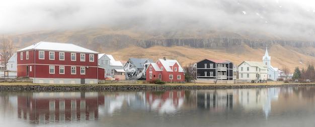 Seydisfjordur-stadtbild island